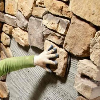 Installation 1 SQ FT - Price without stones or bricks material